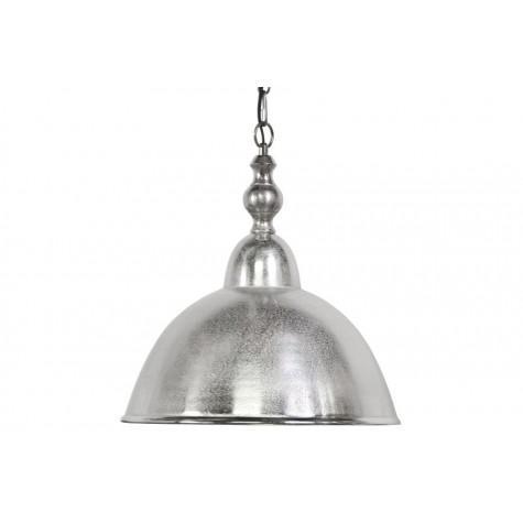 Подвесной светильник серый в стиле лофт - фото