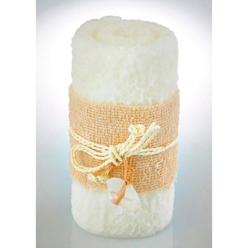 Свеча для ванной с ароматом ванили - фото