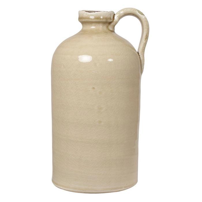Кувшин-ваза с ручкой песочный Kerinci - фото