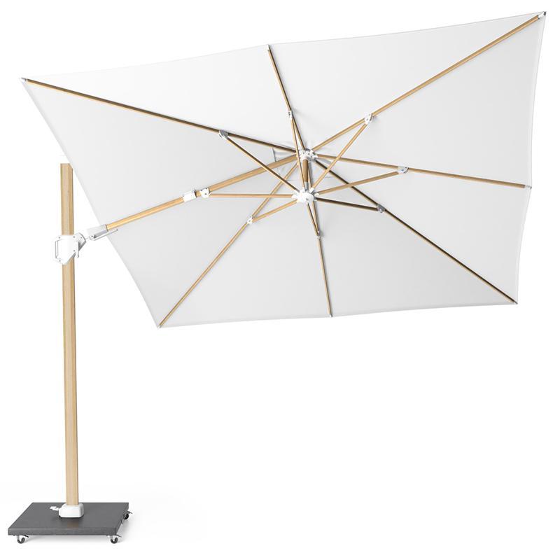 Белый солнцезащитный зонт для сада Challenger T2 Oak White с вращением на 360°  - фото