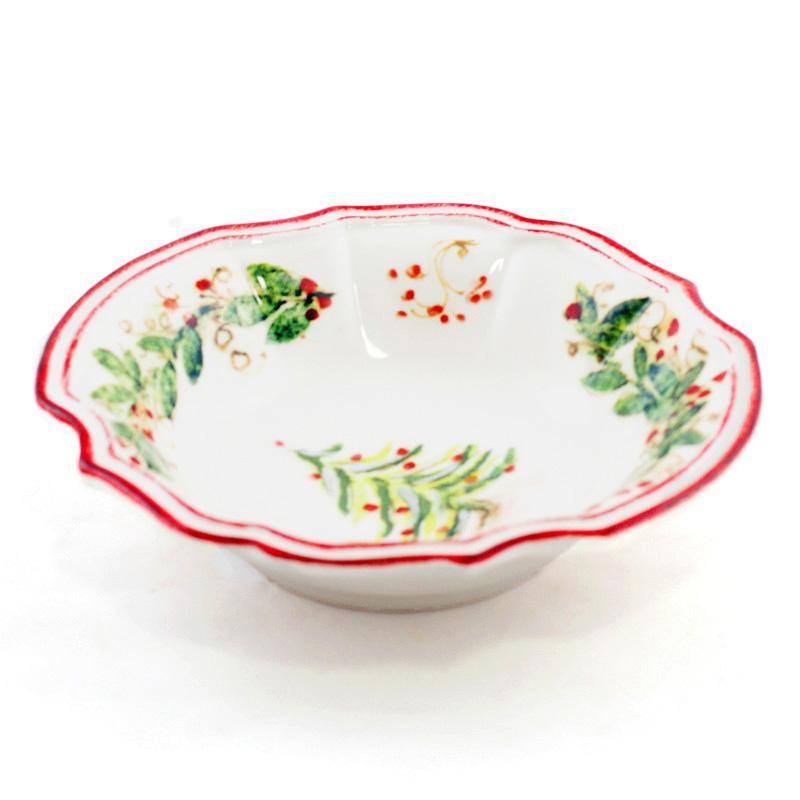 Тарелка для супа Bizzirri Xmas 23 см - фото