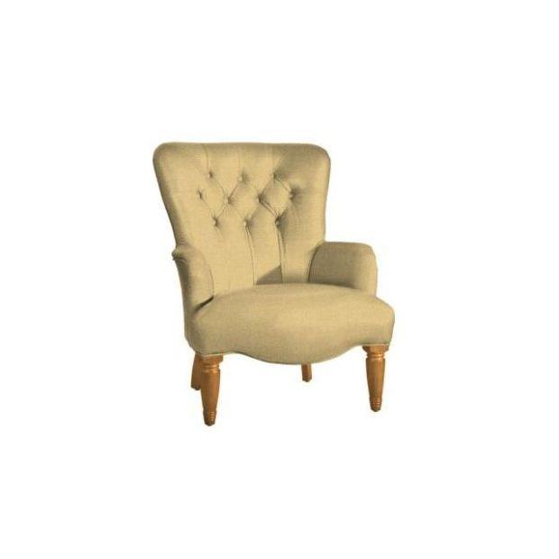 Кресло Albert Sandringham Plain Cream - фото
