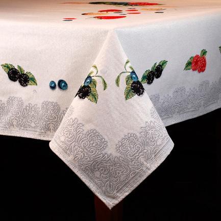 Гобеленовые скатерти Лесные ягоды - фото
