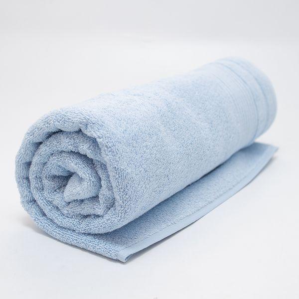 Полотенце Centrotex Cless 100×150 см голубое - фото