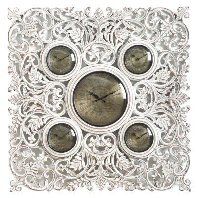 Часы с пятью циферблатами - фото