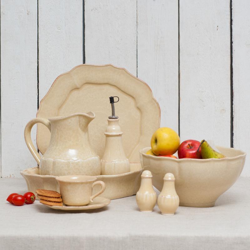 """""""Каменная"""" посуда жёлтого цвета из Португалии Impressions - фото"""