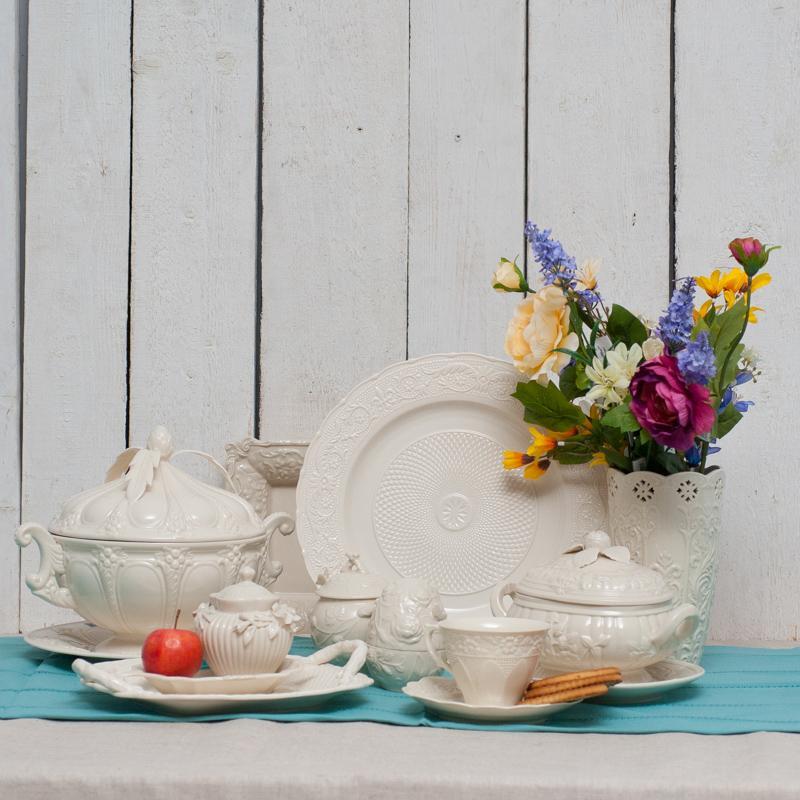 Crema - коллекция декоров и посуды из фарфора - фото