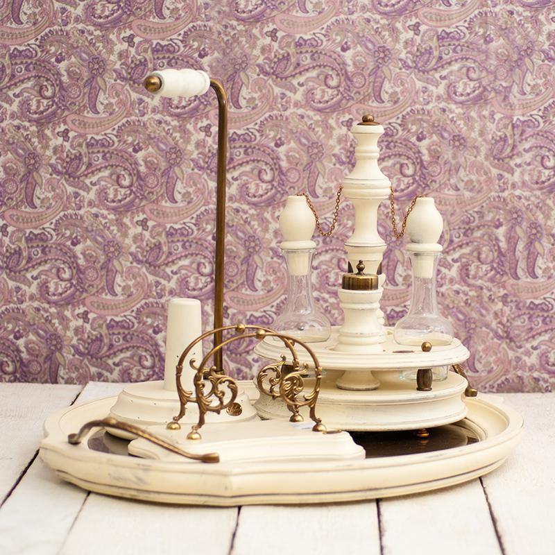 """Коллекция деревянной посуды в белом цвете """"Прованс"""" - фото"""