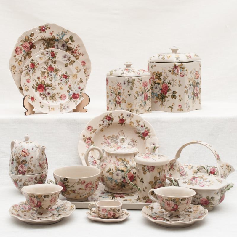 Коллекция чайной посуды Sweet England - фото
