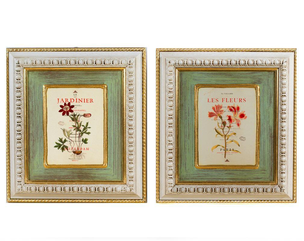 "Набор из 2-х картин ""Ботаника"" - фото"