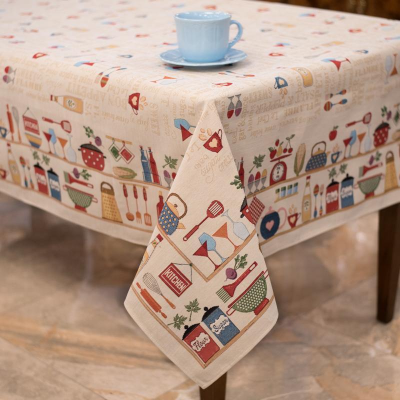 """Коллекция гобеленового текстиля """"Секреты шеф-повара"""" Villa Grazia Premium - фото"""