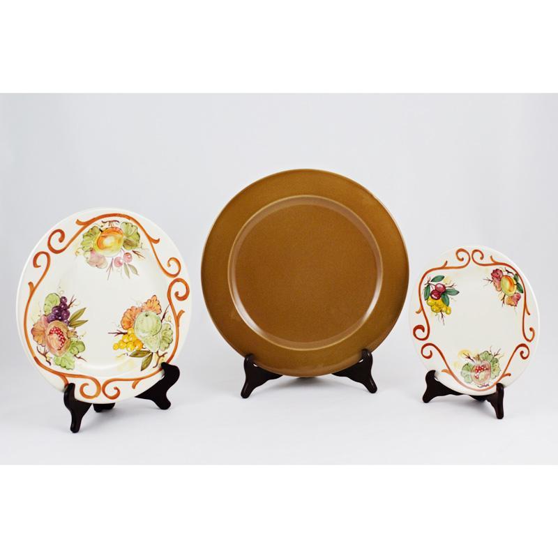Набор из трех тарелок Frutta Di Campo - фото