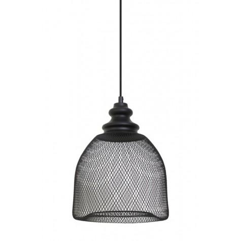 Подвесной светильник в стиле лофт черный - фото