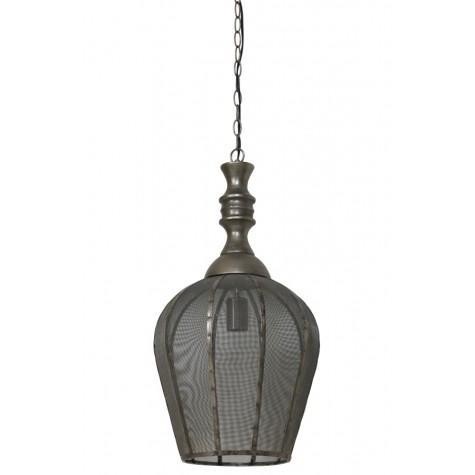 Подвесной светильник открытого дизайна - фото