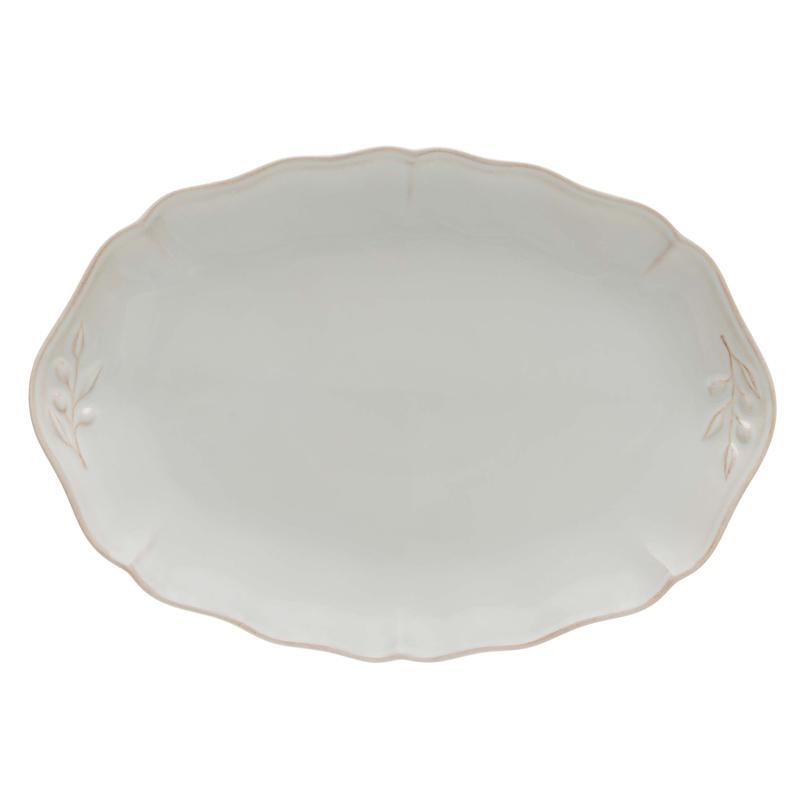 Блюдо овальное белое Alentejo - фото