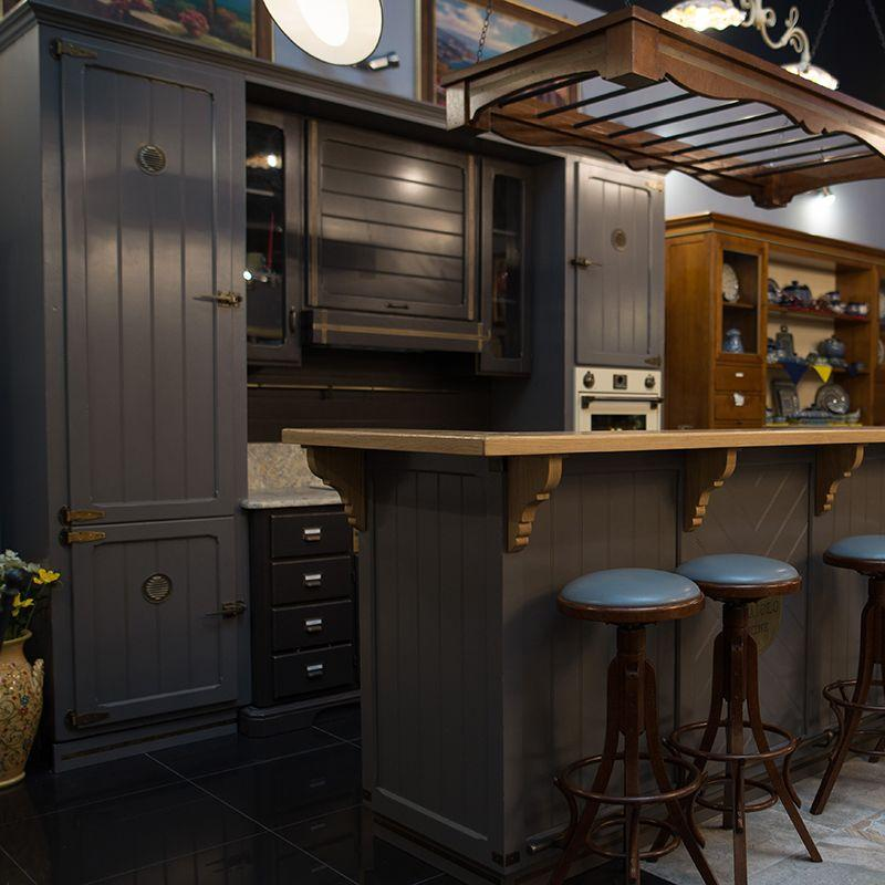 Кухня из массива каштана Villa Grazia - фото