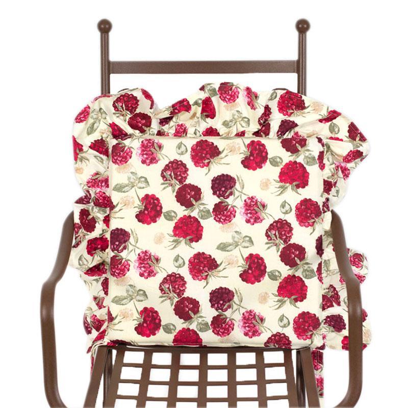"""Гобеленовая подушка для стула """"Ягода-малина"""" - фото"""