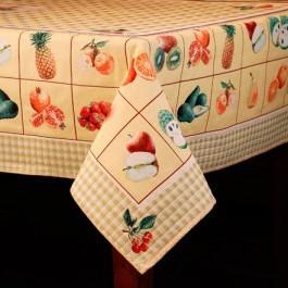 """Гобеленовый текстиль для кухни """"Фруктовая азбука"""" - фото"""