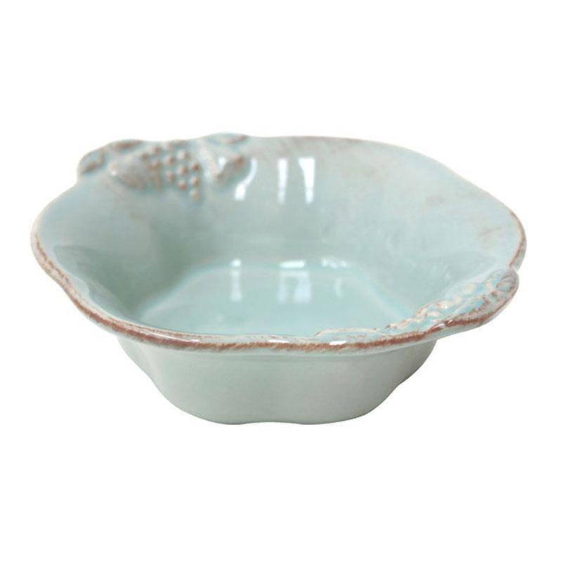 Набор глубоких керамических мисок 6 шт. из голубой коллекции Mediterranea - фото