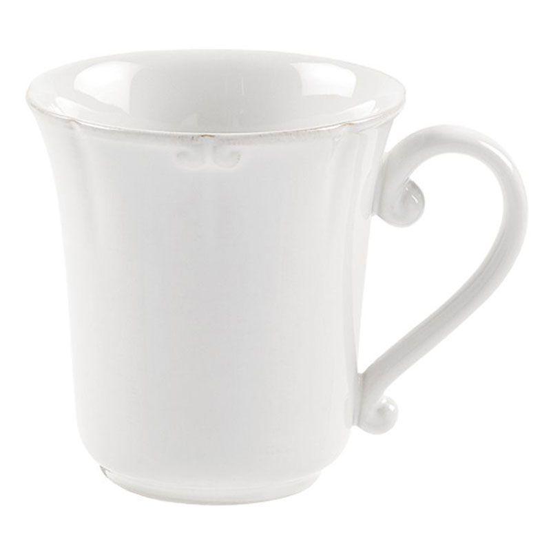 Набор белых чашек 6 шт. Barroco - фото