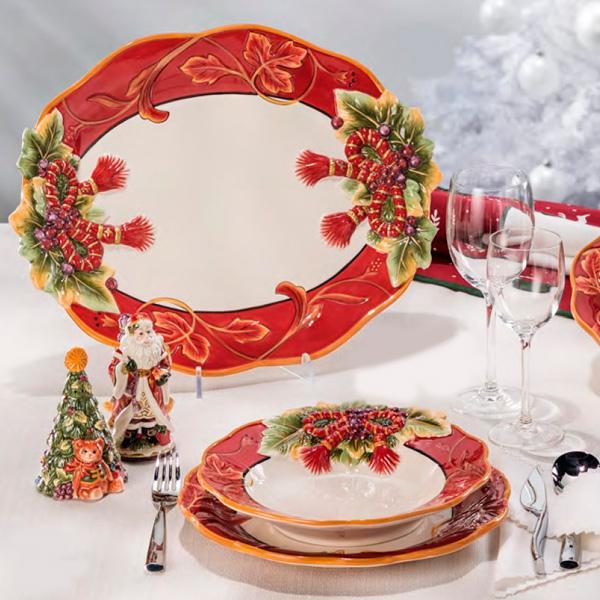 """Красивая посуда на Новый Год """"Королевский праздник"""" - фото"""