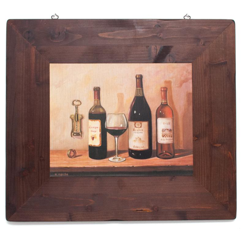 "Набор 2-х картин ""Вино"" - фото"