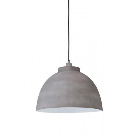 Подвесной светильник тёмно-серый в стиле лофт - фото