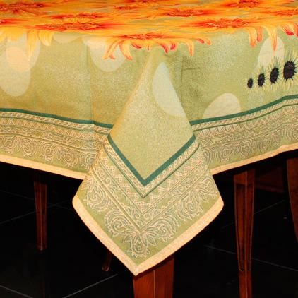 Гобеленовые скатерти с подсолнухами - фото
