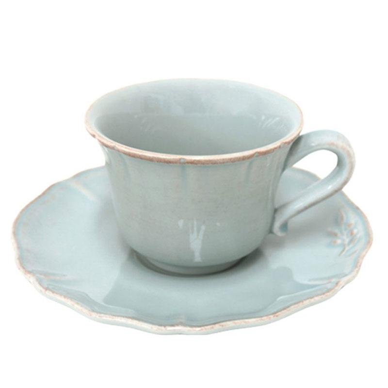 Чашка с блюдцем для чая, набор 6 шт. Alentejo - фото