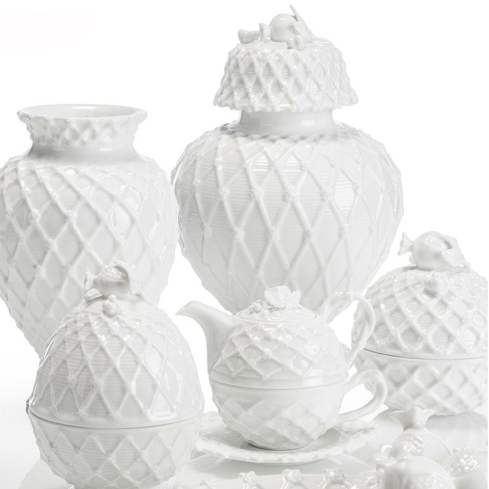 Коллекция керамики Trame in bianco - фото