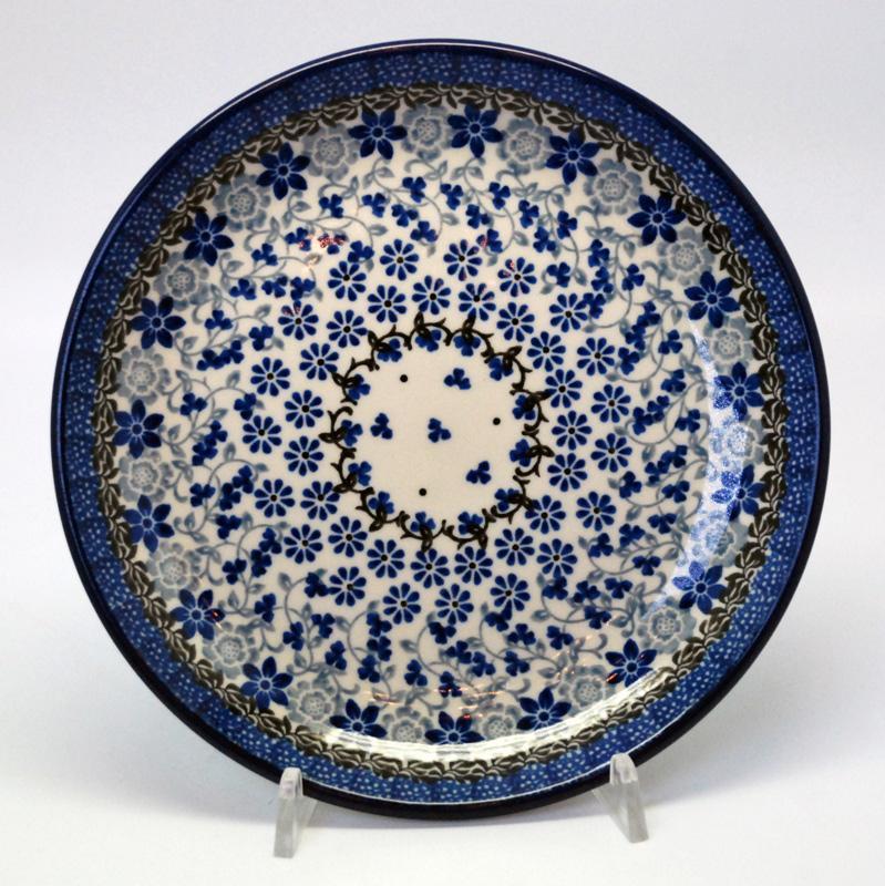 """Тарелка десертная с цветочным орнаментом """"Полевые цветы"""""""