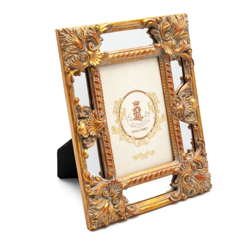 """Фоторамка настольная в цвете """"античное золото"""" Antique"""