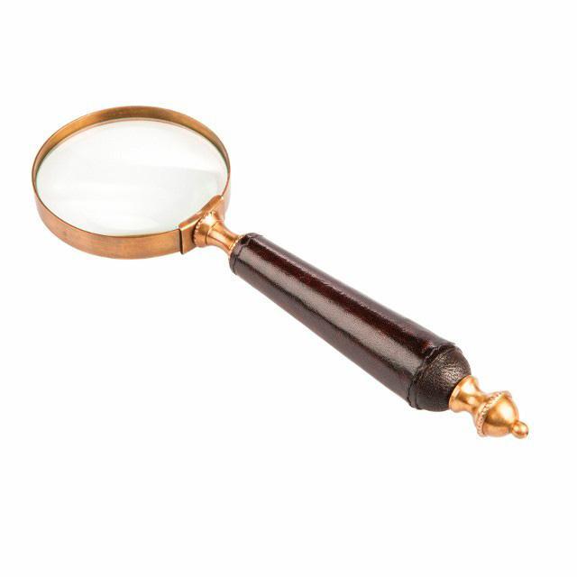 Увелечительное стекло темно-коричневое William