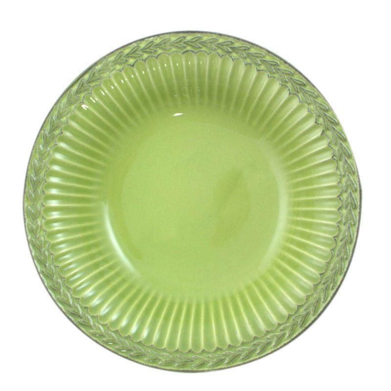 Тарелки для супа Bizzirri Venezia Verde 24 см 6 шт.