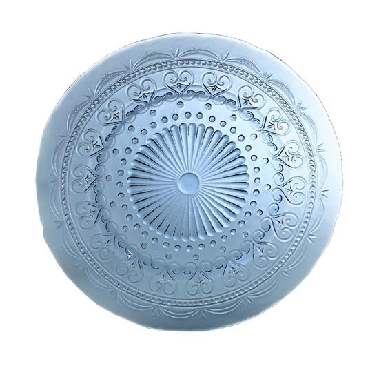 Тарелка подставная голубая