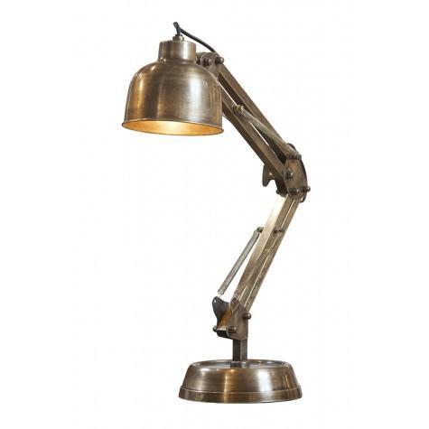 Лампа настольная бронзовая
