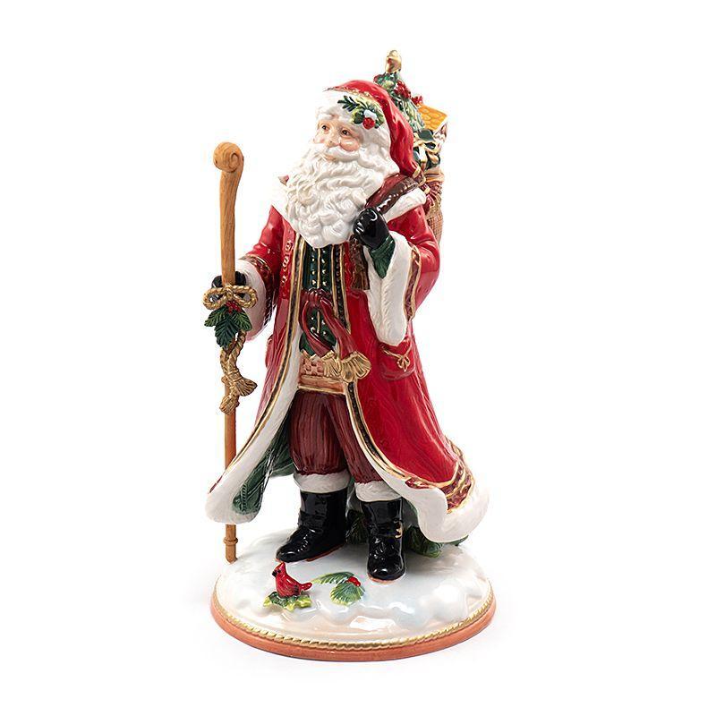 """Статуэтка Дед Мороз с мешком """"Семейные традиции"""""""