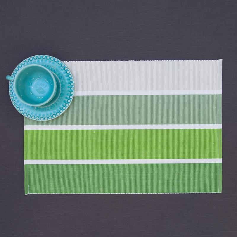 Салфетка подставная зеленая