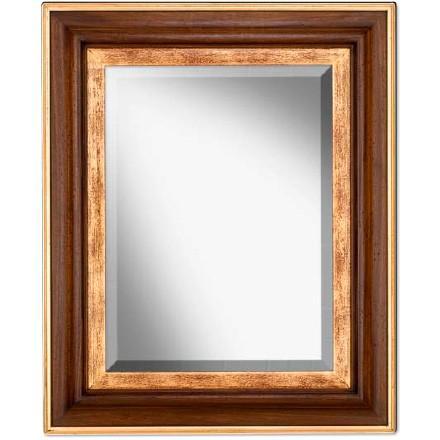Зеркало прямоугольное настенное в раме