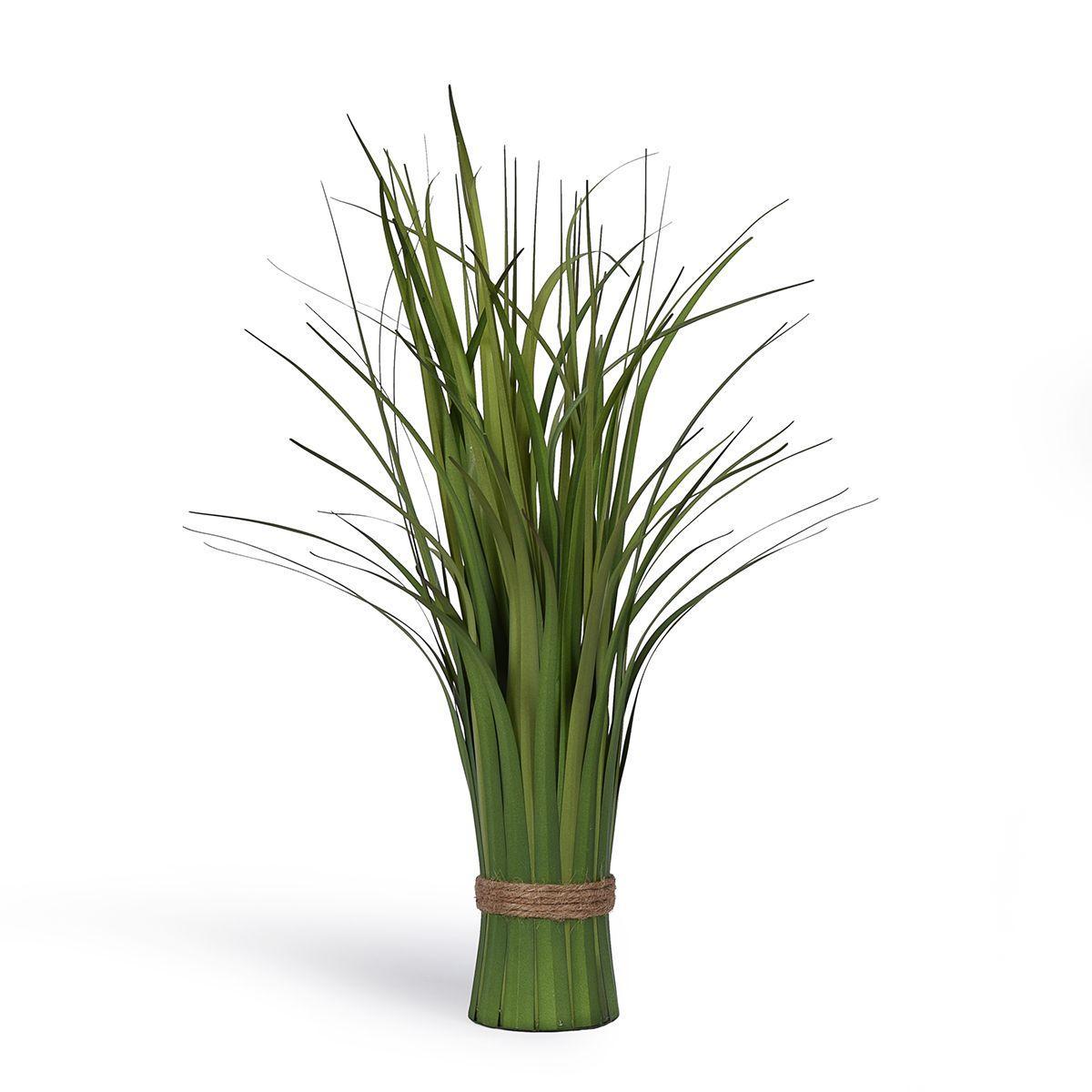 Пучок искусственной травы Осока зеленого цвета