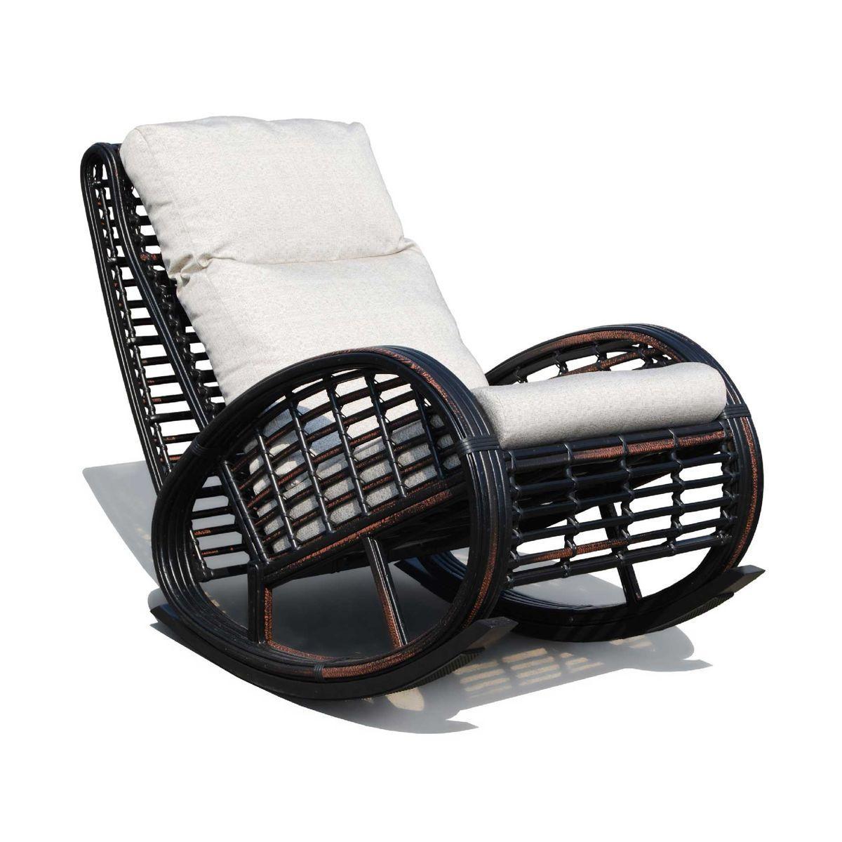 Кресло-качалка для отдыха на балконе и террасе Taurus