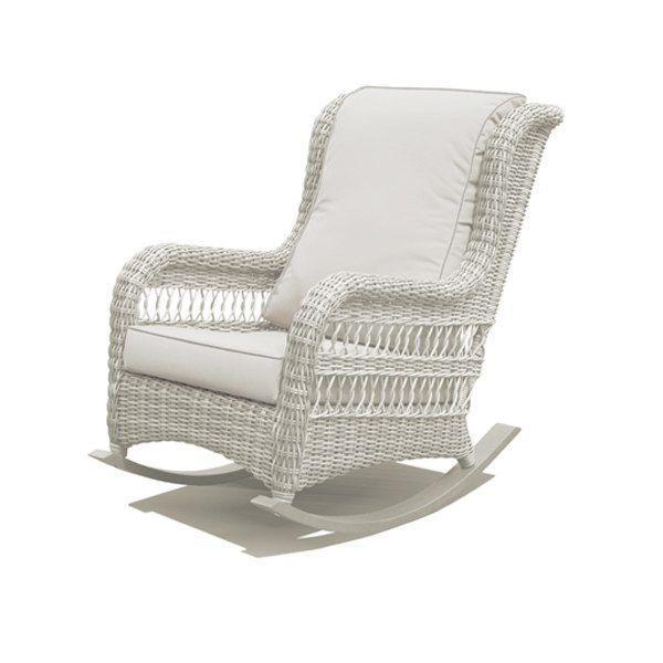 Кресло-качалка Ebony White Wash
