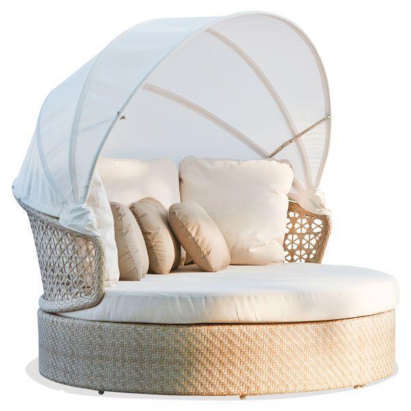 Диван-кровать с текстильным навесом Journey