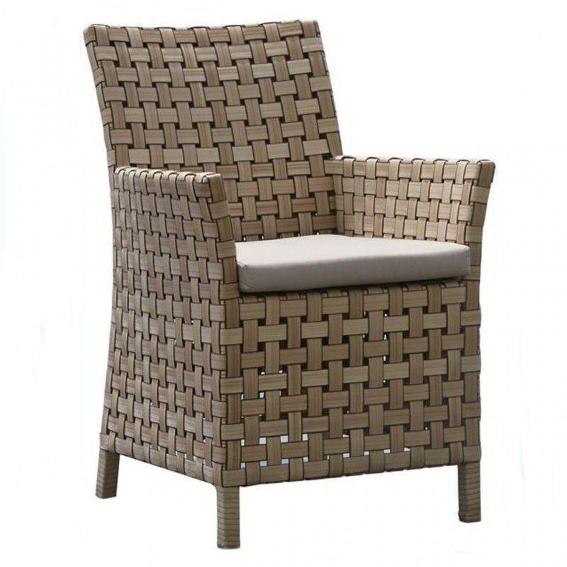 Обеденное кресло из плетеного техноротанга Cielo