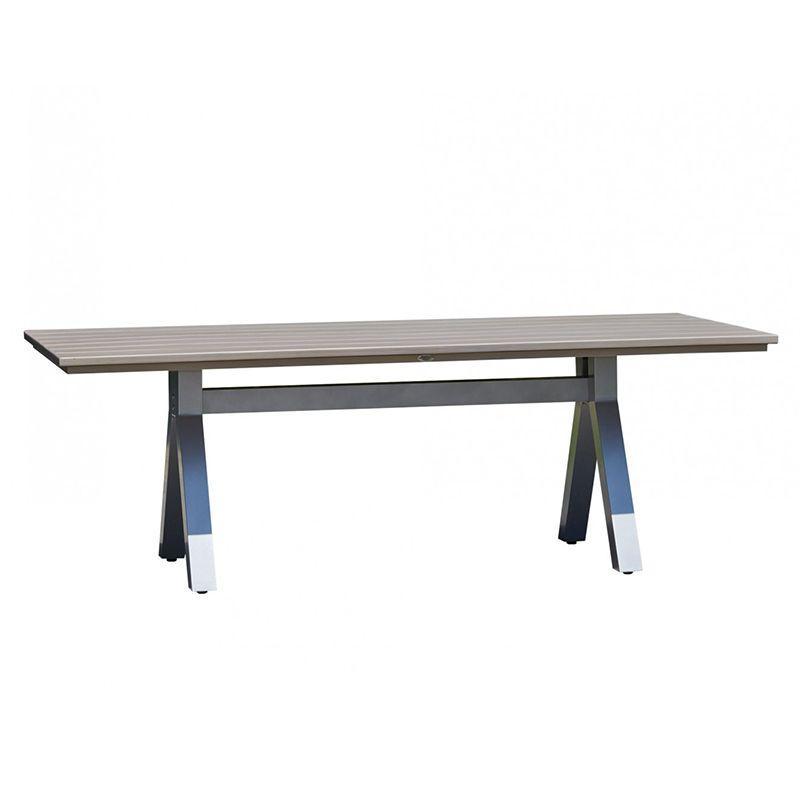 Стол обеденный с деревянной столешницей Cielo