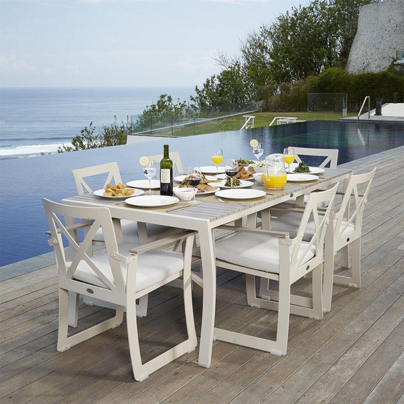 Прямоугольный обеденный стол Rhone