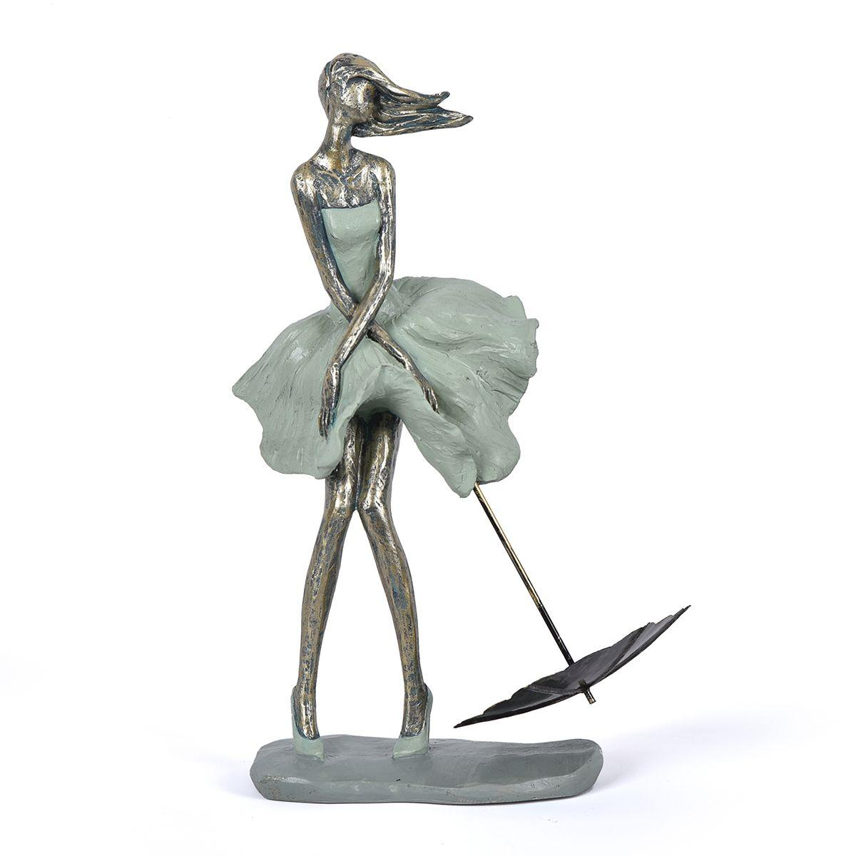 """Оригинальная статуэтка """"Девушка с зонтиком"""" Hilda"""