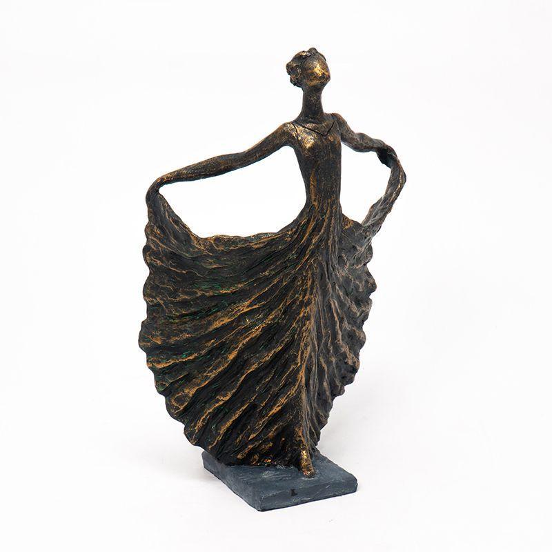 """Статуэтка из полирезина """"Танцующая балерина"""" Hilda Exner"""