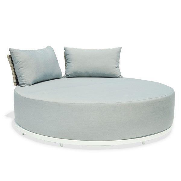 Круглый лаунж-диван с мягким матрасом Windsor