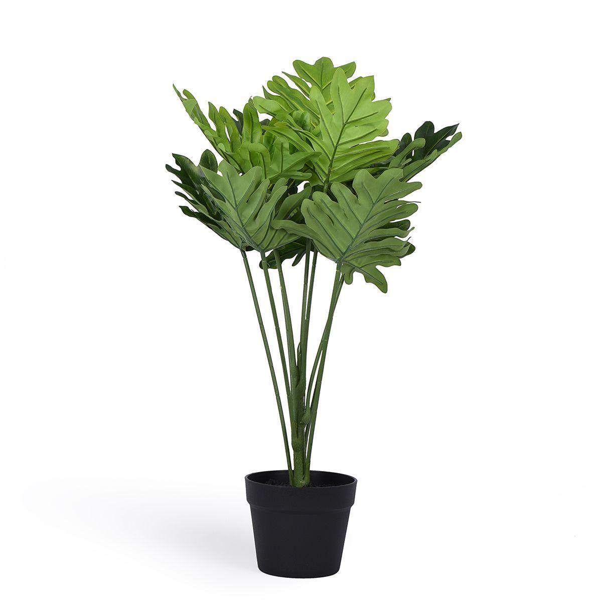 Искусственное дерево Филодендрона Ксанаду в горшке